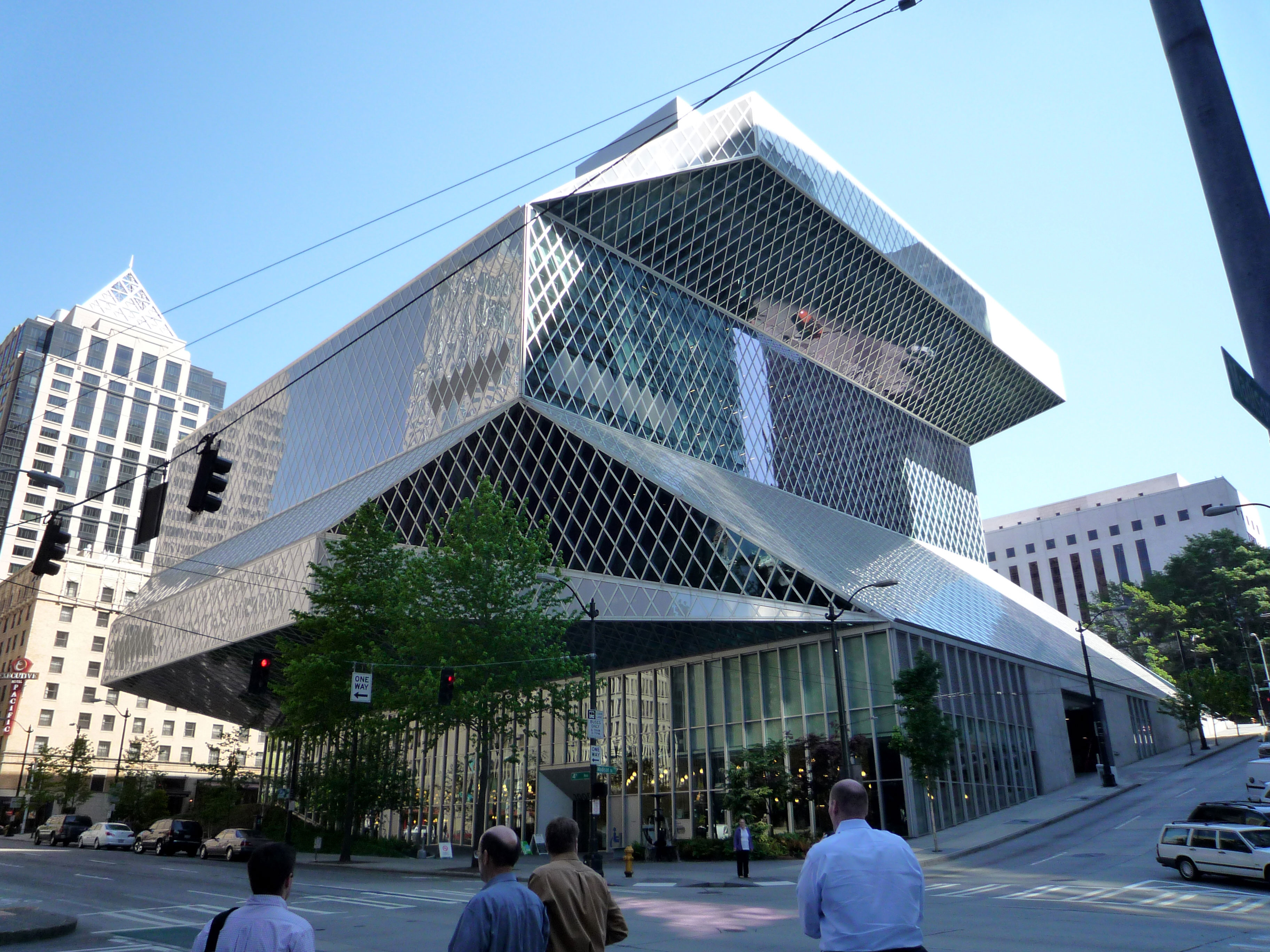 Seattle-Central-Library Modern architects you should know and their great work