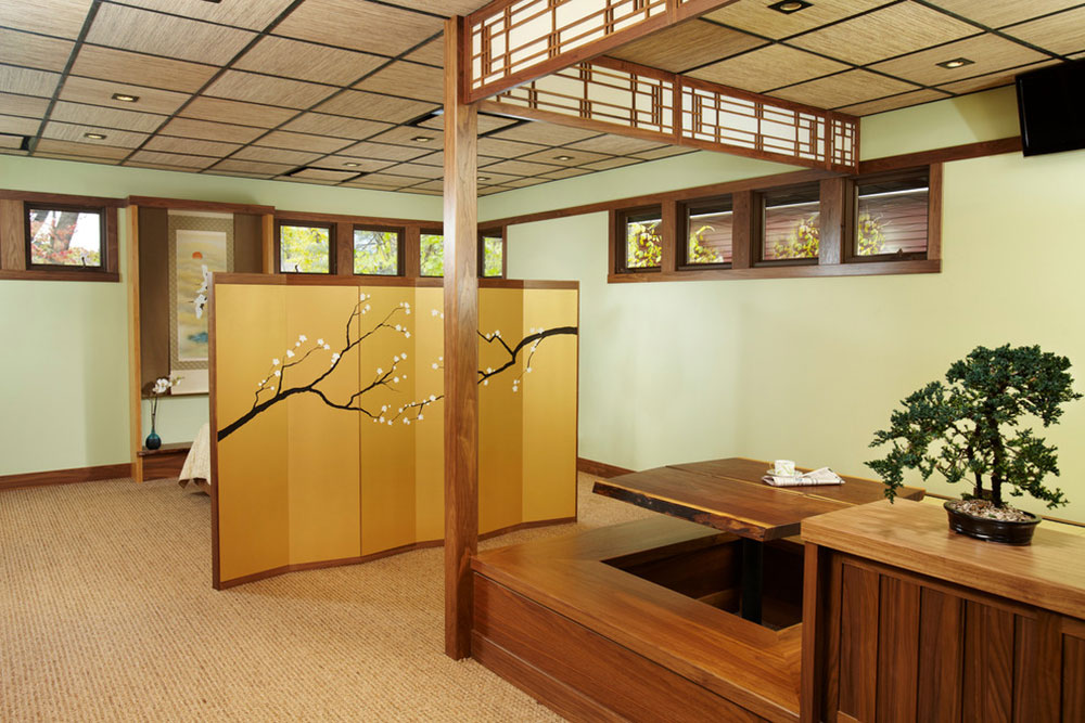 Ryokan-Japanese-Guest-House-Interior-by-Daedal-Woodworking What a traditional Japanese living ambience looks like