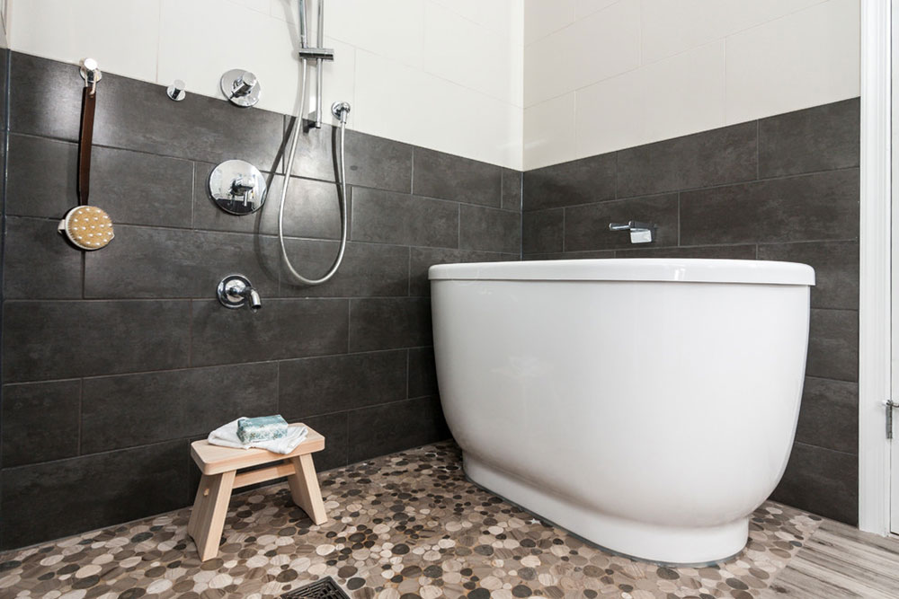 Laurel-Master-Bath-Japanese-Soaking-Tub-by-House-to-Home-Solutions What a traditional Japanese living environment looks like