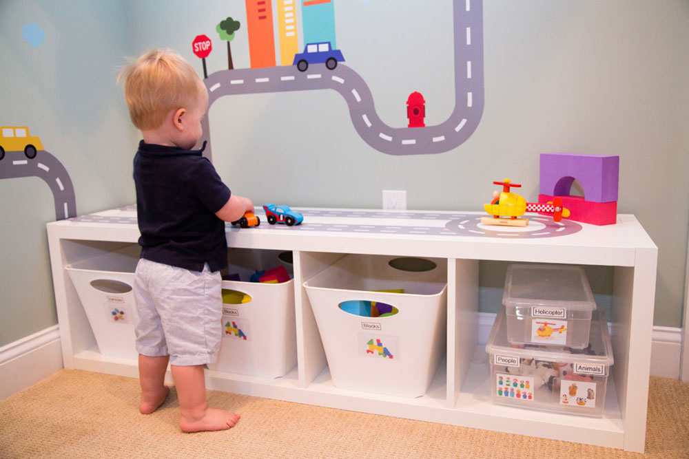 Smart Playroom-in-Rye-NY-by-Smart Playrooms Ideas for toddlers' rooms to give your child the best possible space