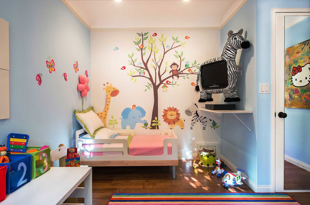 Toddler Room-by-Fundi-Interiors1 ideas for toddler rooms to offer your child the best possible room