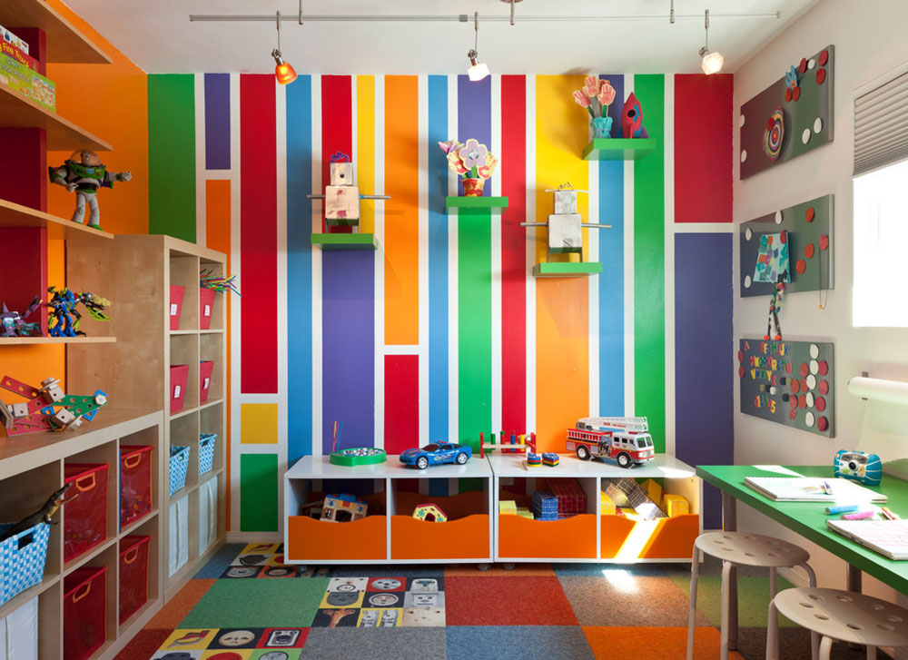 Colorful mid-century modern residence-by-kropat interior design ideas for toddlers' rooms to give your child the best possible space