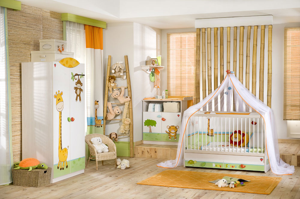 Baby Safari by Turbo Beds Ideas for toddlers' rooms to give your child the best possible room