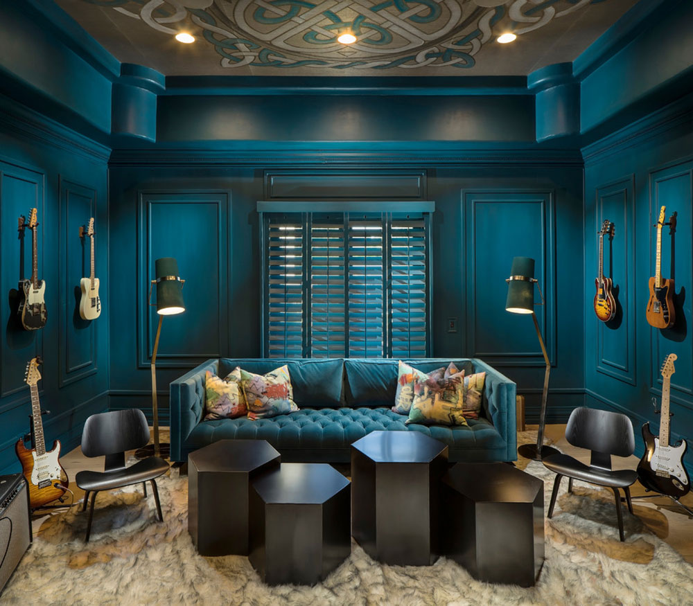 Modernized-Renovation-Paradise-Valley-by-IMI-Design-LLC The colors that go with blue-green?  Check out these color combinations