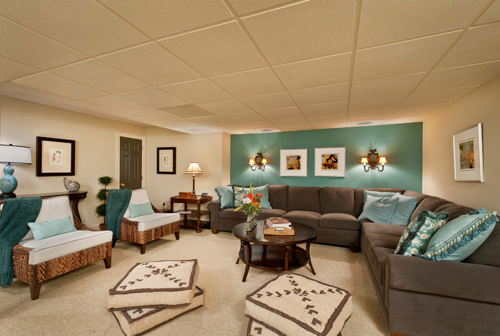 Gathering-Place-by-Belle-Maison-Interior-Design The colors that go with teal?  Check out these color combinations