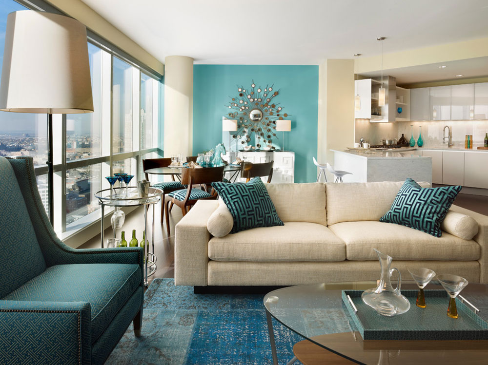 City-Life-on-the-Hudson-by-Gacek-Design-Group-Inc The colors that go with teal?  Check out these color combinations