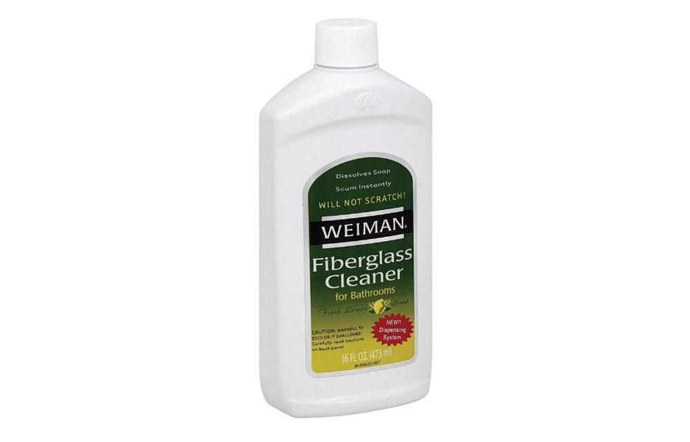Glass fiber cleaner How to clean the glass fiber shower (short tips)