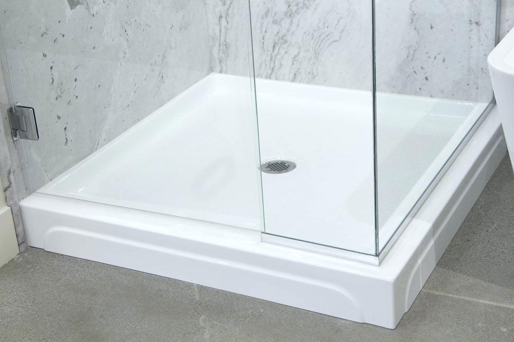 Shower tray How to clean the glass fiber shower (short tips)