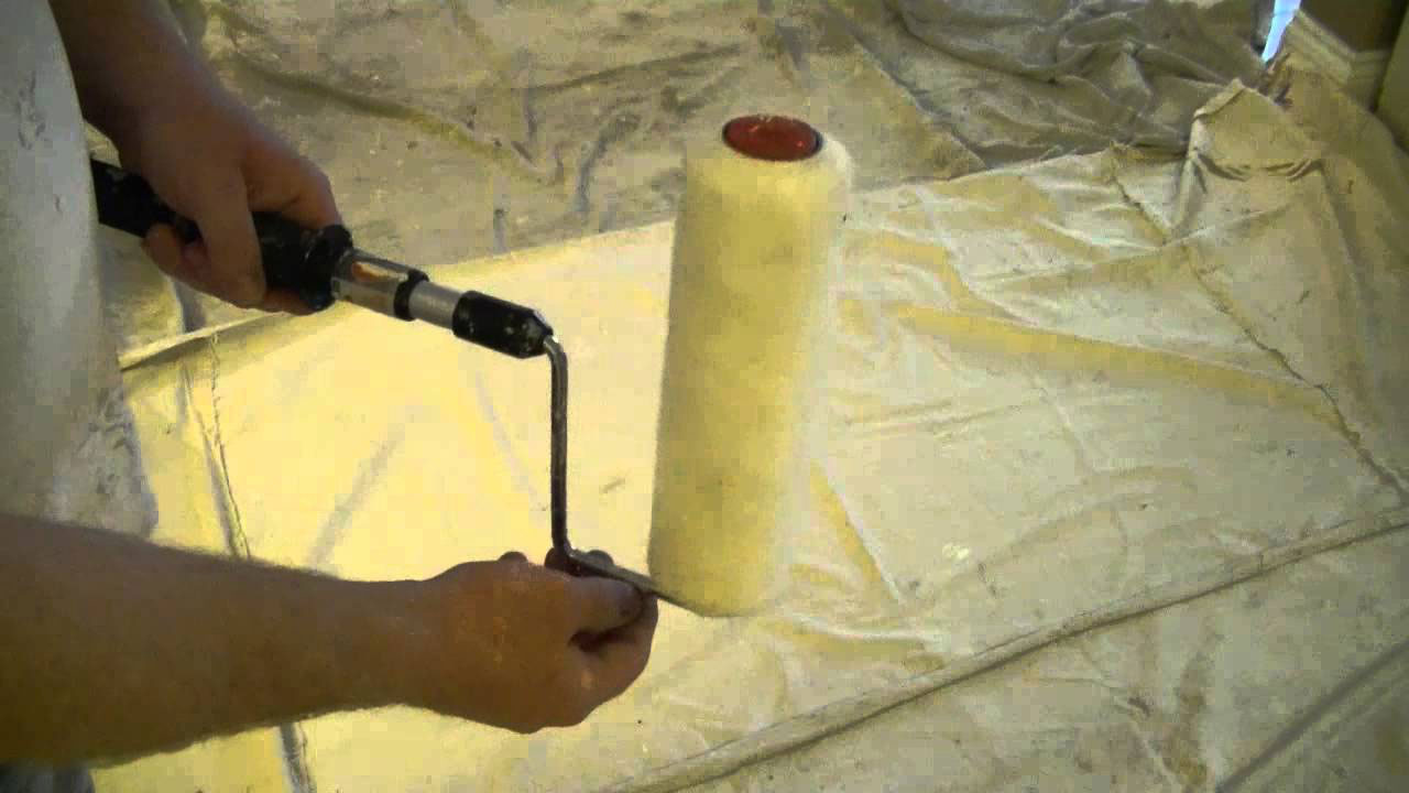 disassemble1 How to clean paint roller after painting the walls