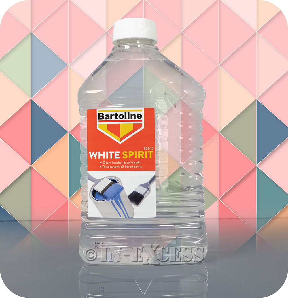White spirit How to clean paint rollers after painting the walls