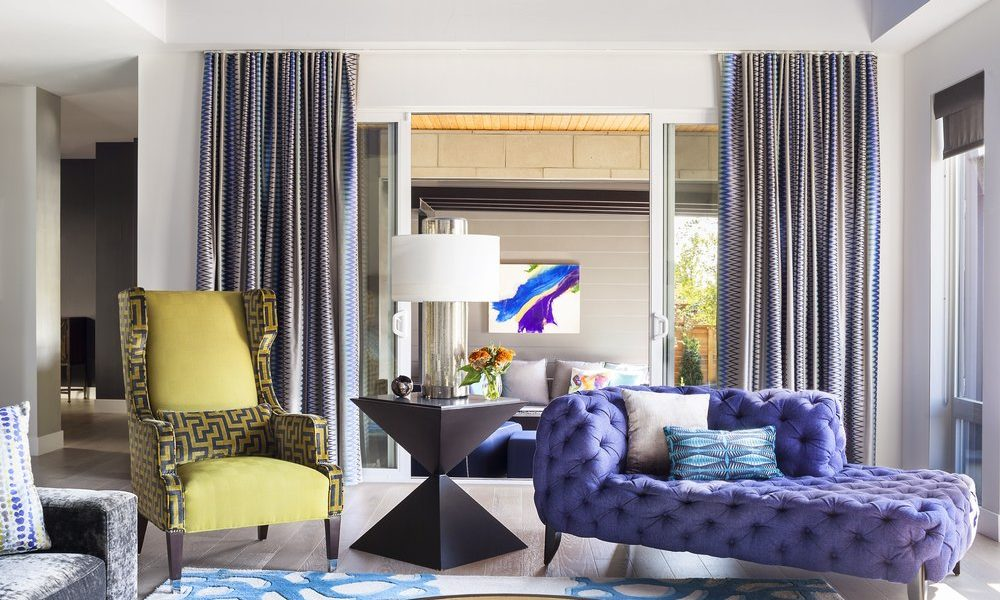 two-tone 1000x600 living room curtain ideas to improve your room decoration