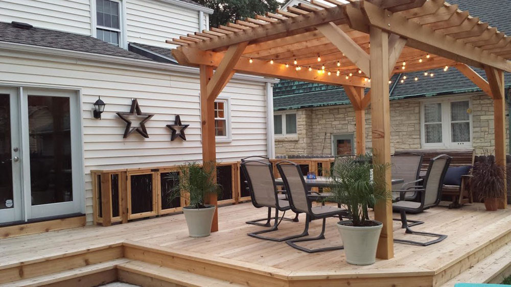 Tosa-Deck-and-Pergola-by-LaBonte-Construction Ideas for covered decks that you should try out for your home