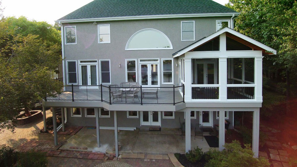 Canton-GA-Gable-Roof-Porch-and-Deck-from-Peachtree-Decks-and-Porches Covered Decks Ideas You Should Try for Your Home