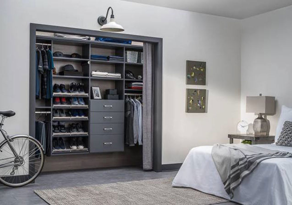 Ideas for home organization solutions by ORG home closet doors that you should try out in your room