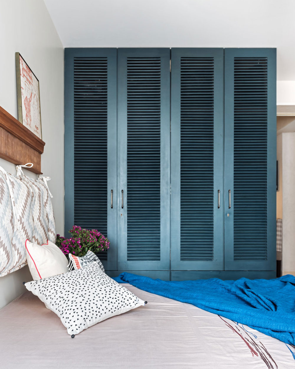 Guest-Bedroom-by-PS Design Closet Doors Ideas To Try In Your Room