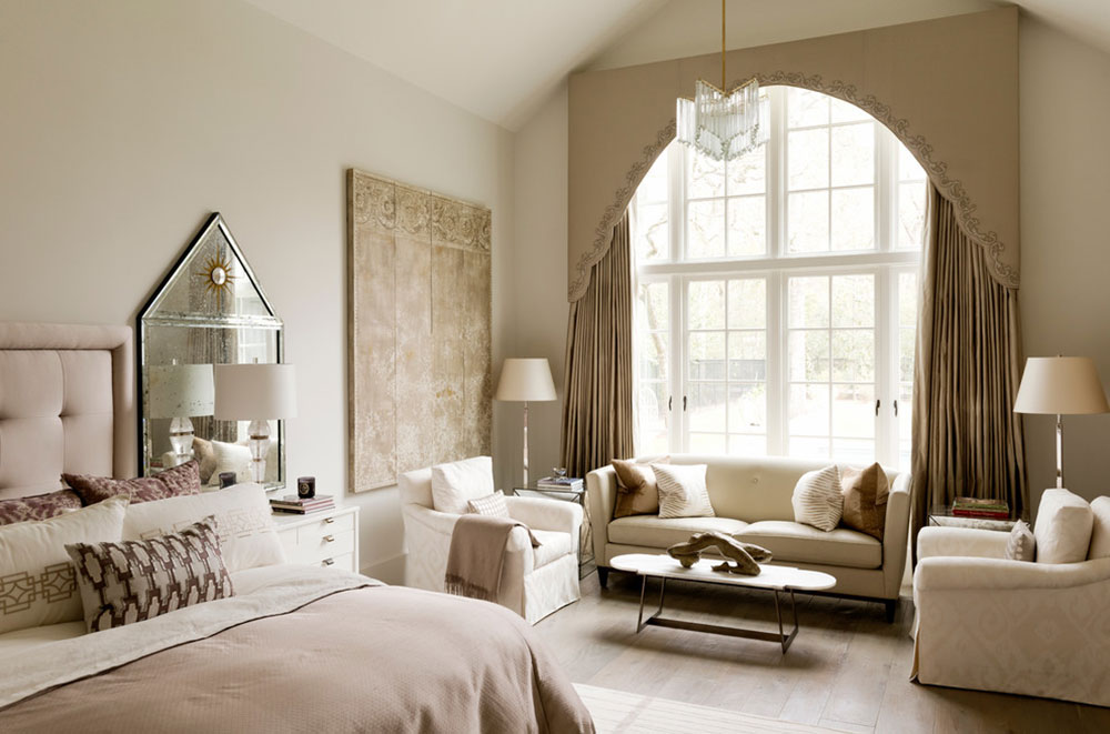 Private-Residence-by-Dodson-Interiors Beige bedroom ideas to decorate your bedroom in a neutral color