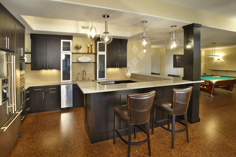 New-build-Saint-Louis-by-Kristin-Petro-Interiors-Inc basement kitchen ideas for creating an amazing kitchen