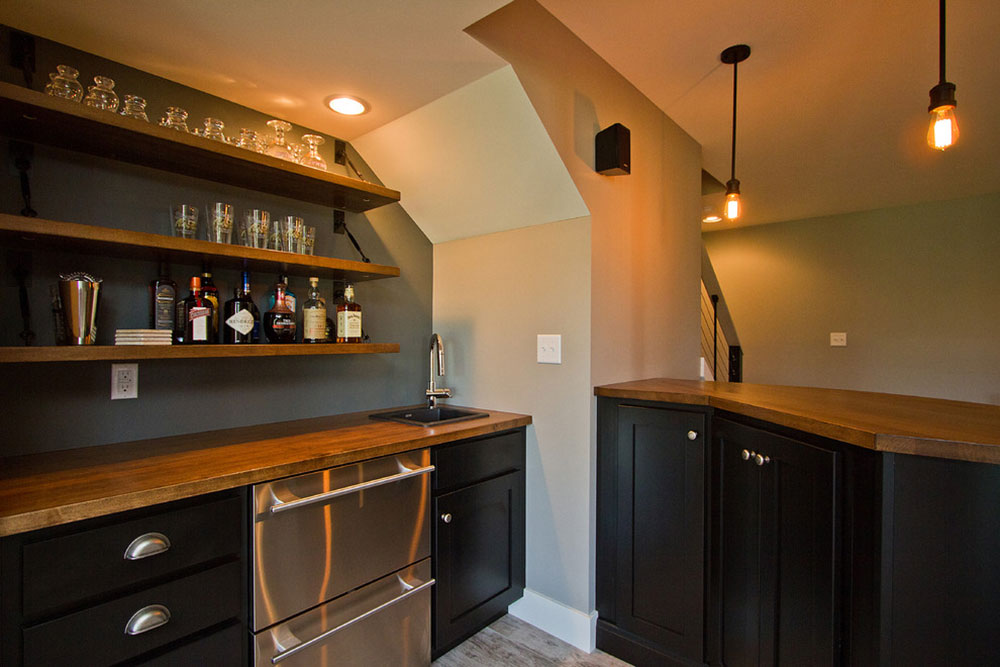 Contemporary-artisan-basement-remodeling-by-EGStoltzfus-custom-homes-and-remodeling basement kitchen ideas for creating an amazing kitchen