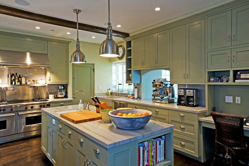 Santa-Monica-Spanish-by-Grace-Furnishings Basement Kitchen Ideas for Creating an Amazing Kitchen