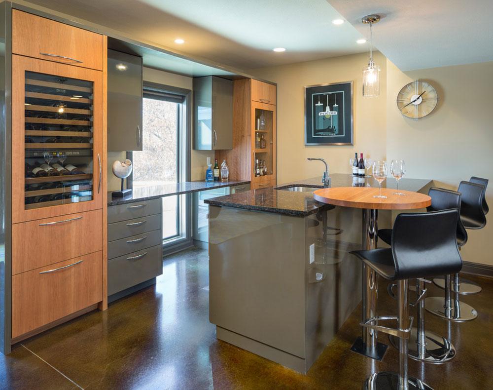 North-Kansas-City-Basement-Bar-by-Kitchen-Studio-Kansas-City Basement Kitchen ideas for creating an amazing kitchen