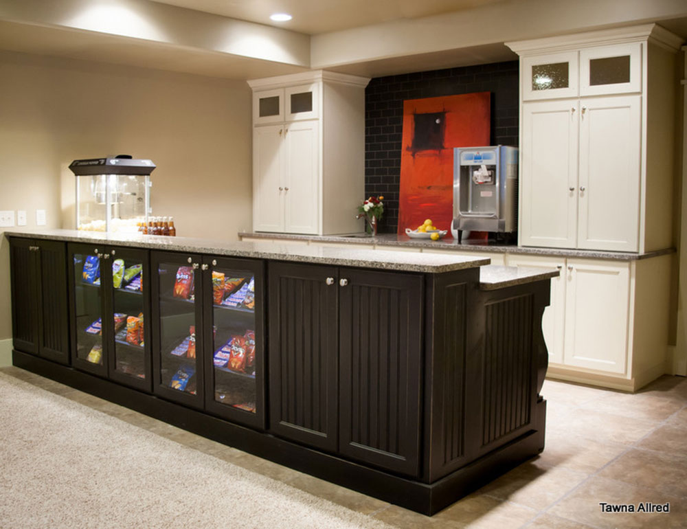 Basement-Kitchenette-by-Tawna-Allred-Interiors Basement kitchen ideas for creating an amazing kitchen