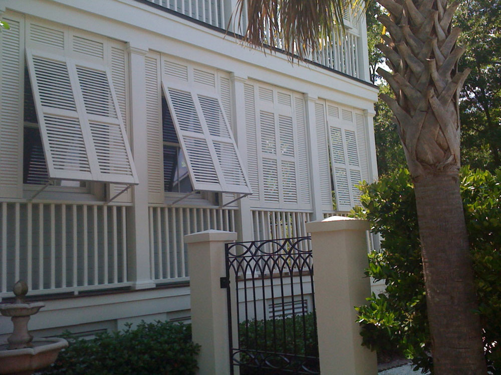 charleston-bahama-exterior-shutters-by-All-About-Windows-Inc What are Bahama shutters and what are their advantages and disadvantages?