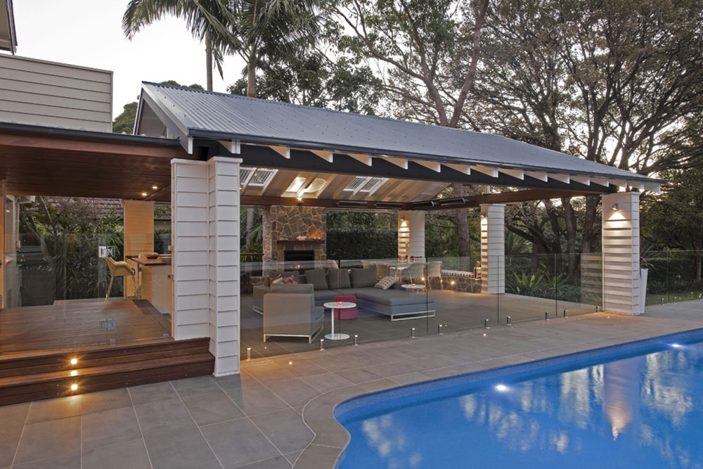 Roseville-Pavilion-by-Michelle-Walker-Architects Backyard Pavilions ideas that beautify your green spaces