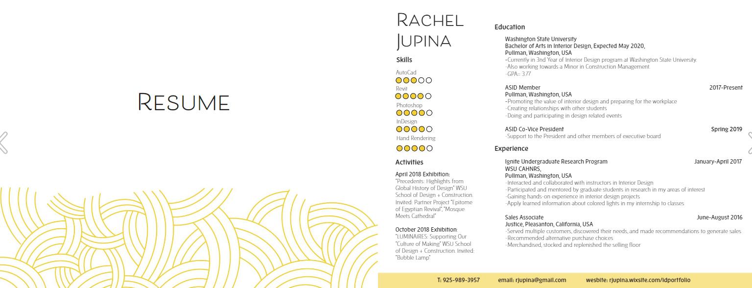 Student portfolio Examples of interior design portfolios that inspire you