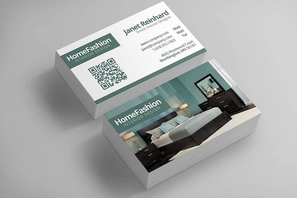 Examples of business card interior design portfolios to inspire you