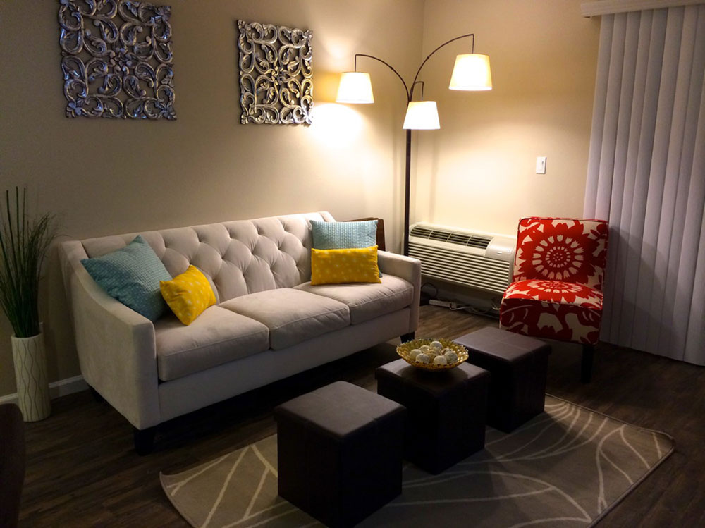 Studio-Apartment-North-Hollywood-by-Design-on-a-Cent-Lori-Pasqualino-Design How to choose the best studio apartment furniture for an efficient space