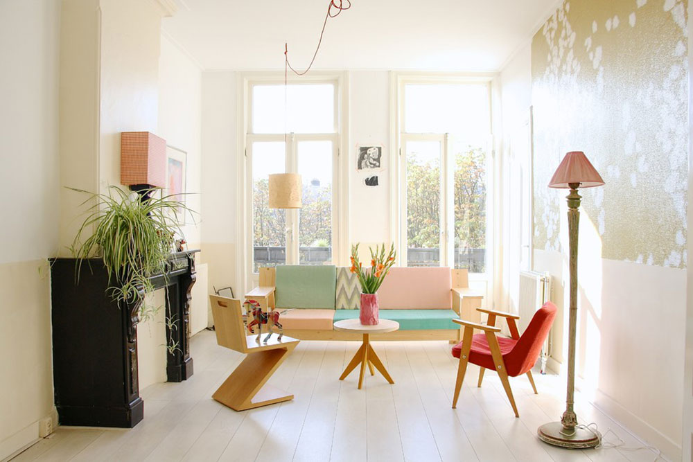 The home of Romy and Ilya by Holly Marder How to decorate with minimalist furniture