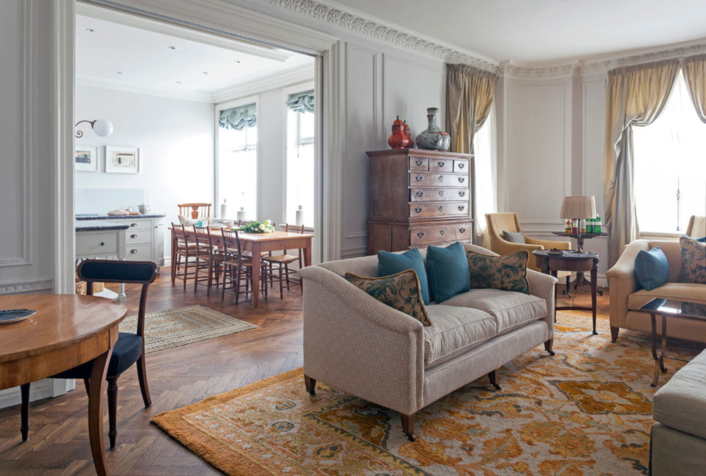 Mansfield-Street-Apartment-by-Nash-Baker-Architects Tips for the best possible furnishing of the apartment