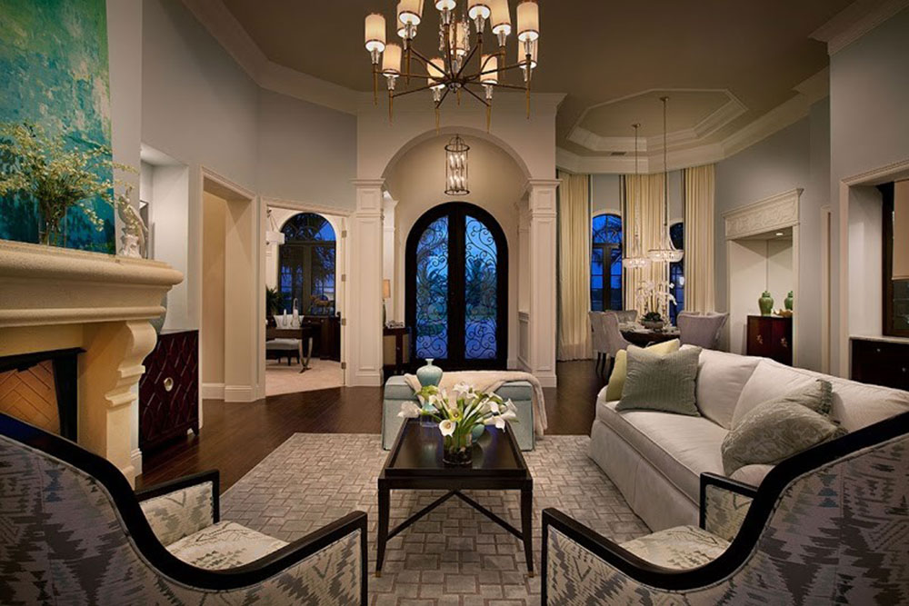 Naples-by-SunCoast-Iron-Doors Great tips and pictures for decorating a mansion