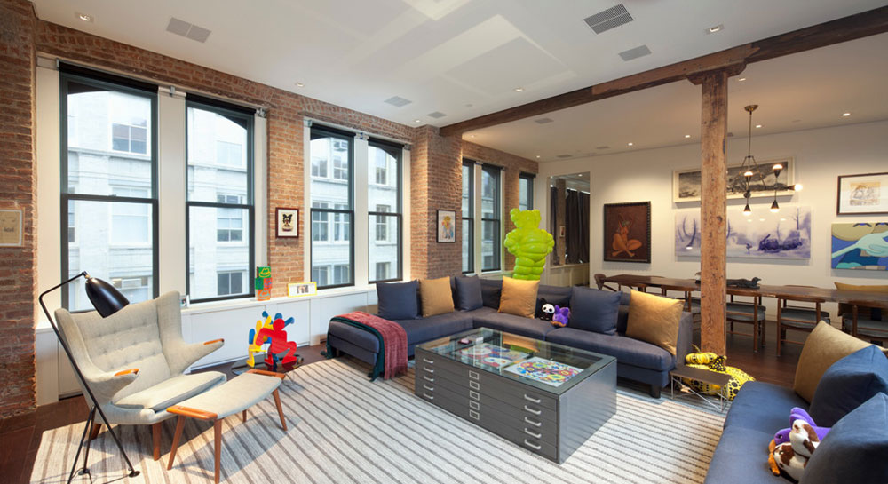 Soho-Loft-by-BuiltIN-Studio What is the Average Interior Designer Salary You Can Expect