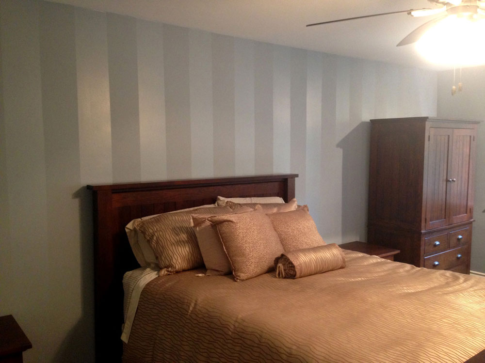 Accent-Wall-Stripes-by-ColourWorks-Painting-Design Wall painting ideas that you should try out for your rooms