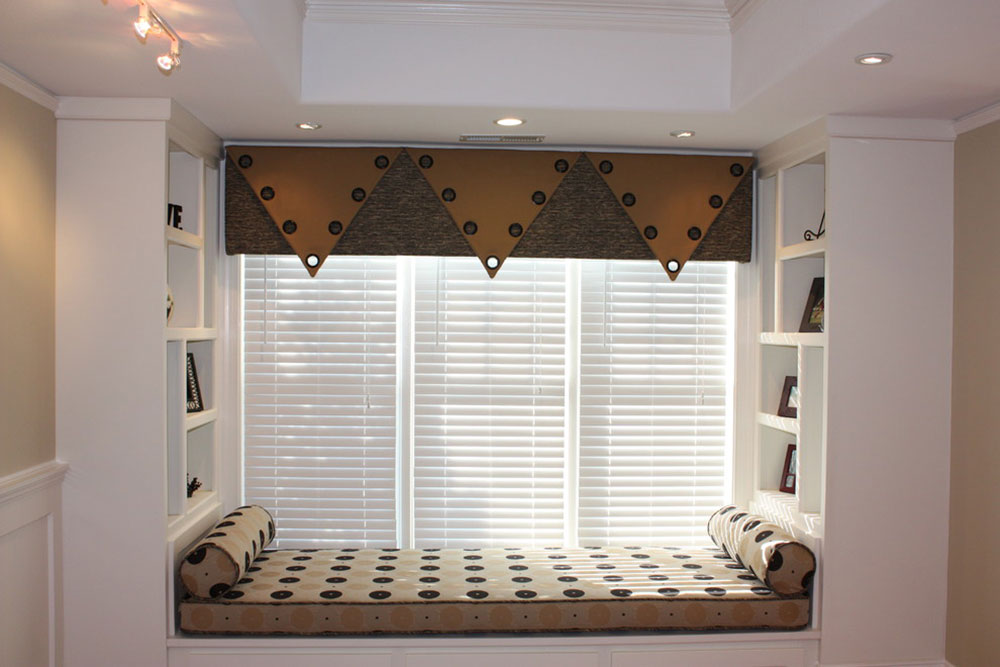 Contemporary basement-by-hanging-in-style designs The difference between a cornice and a valance
