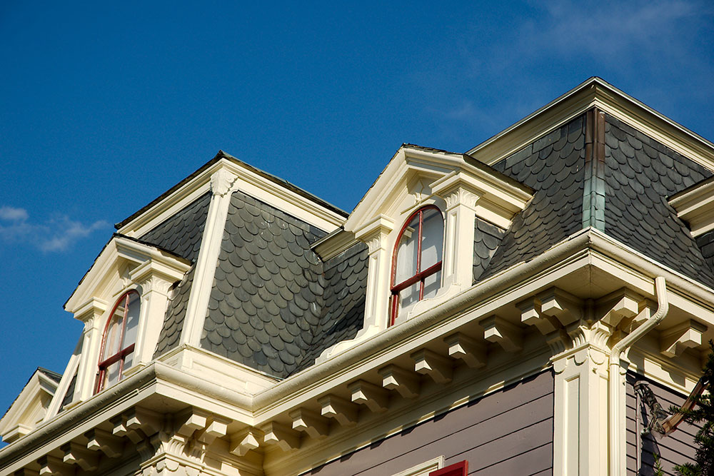 Mansard_Roof_Detail The advantages and disadvantages of a mansard roof
