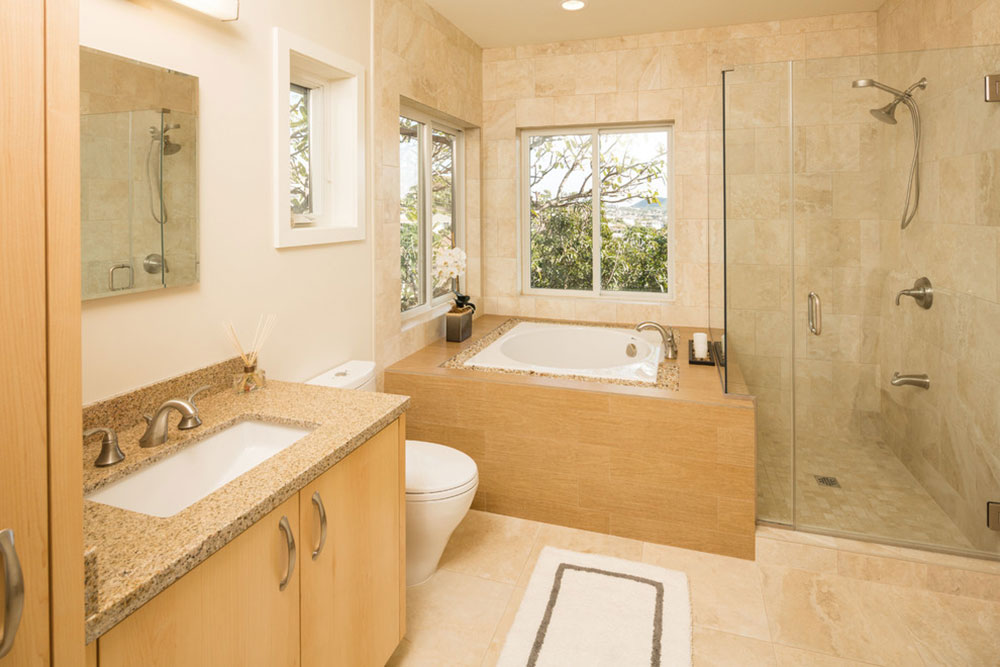 Hillside-House-with-Japanese-Influences-by-Kelso-Architects Japanese ideas for bathroom design in your home