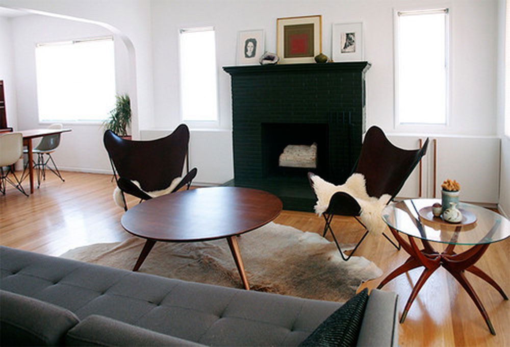 The-Brick-House-by-The-Brick-House Tips on using the butterfly chair to decorate a room