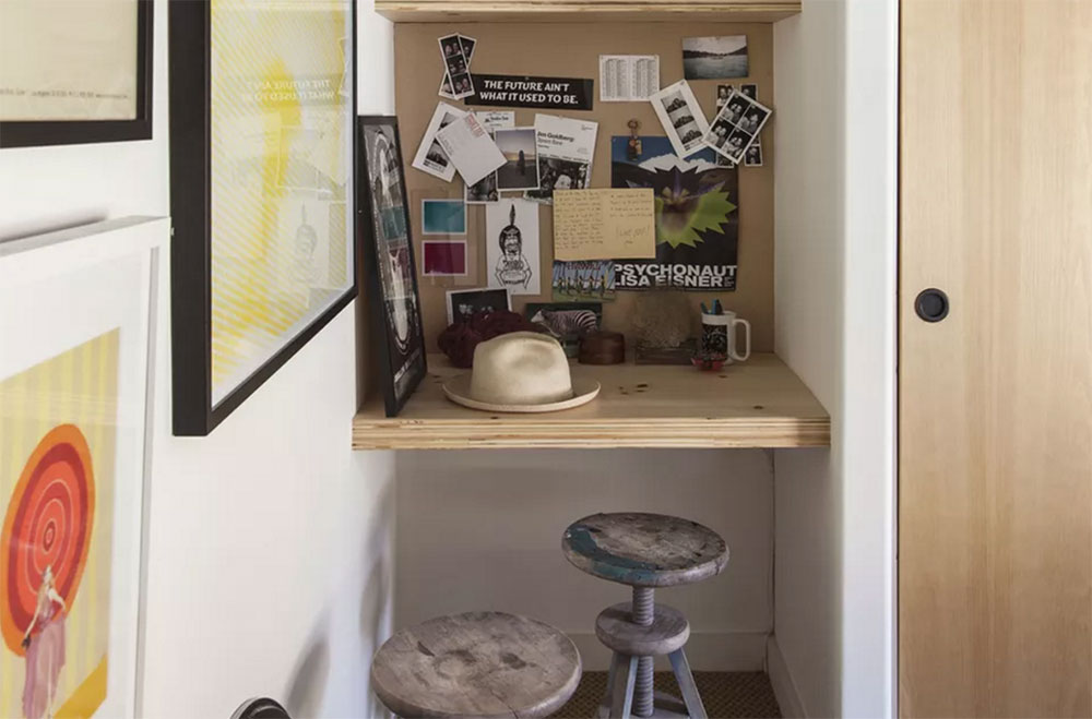 Tiny Use a desk for a small space and options to try