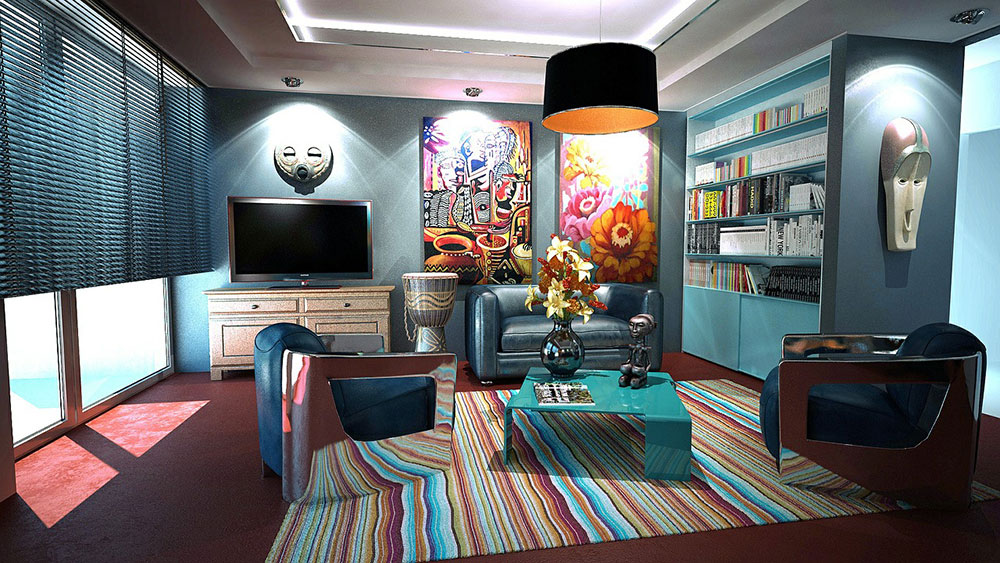 Apartment-416039_1280 Successfully integrate maximalism into a small home