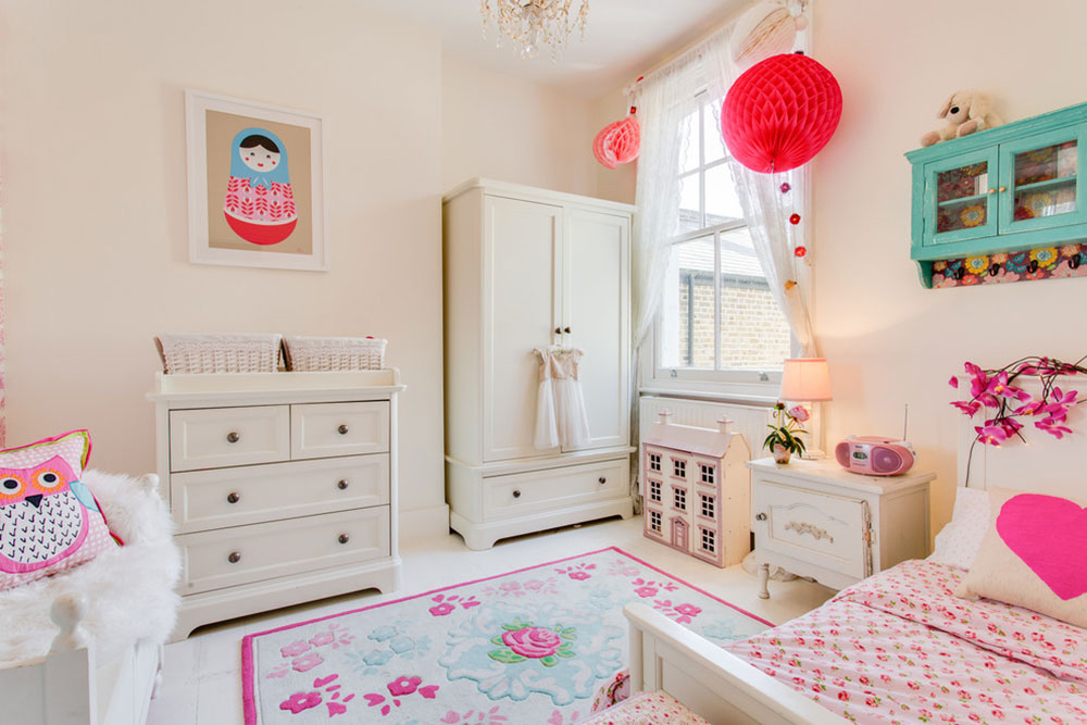 Honey-Bee-Interiors-Queens-Park-by-Paul-Beauchamp Sweet room ideas that your daughter will love