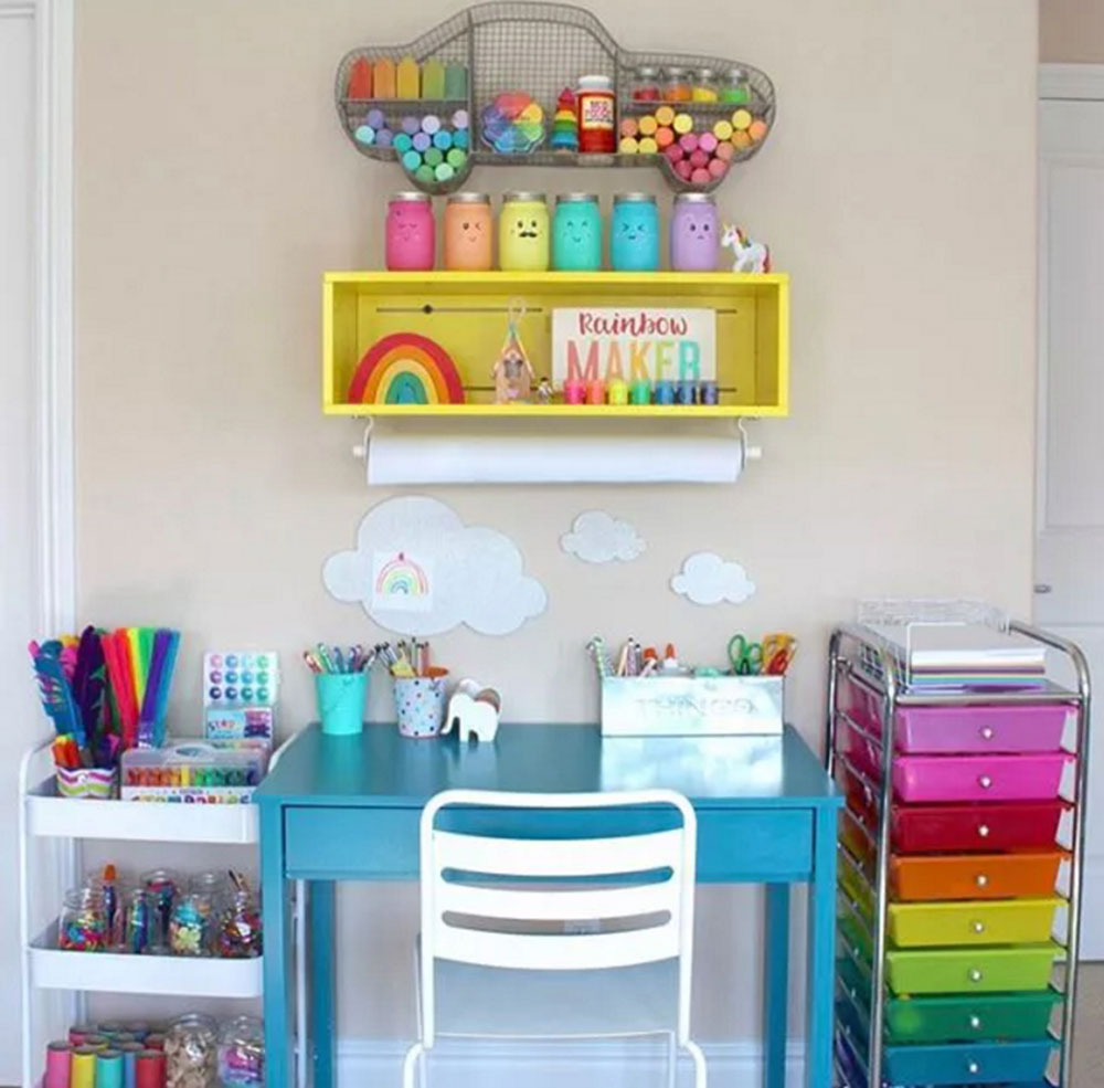 Creation of sweet room ideas that your daughter will love