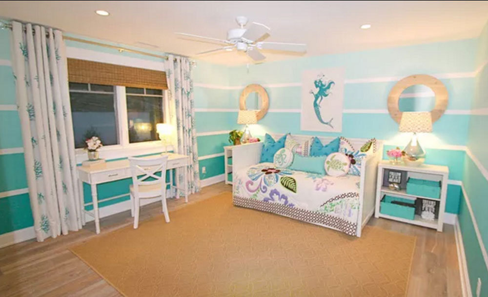 Ombre-the-Sea Sweet room ideas that your daughter will love