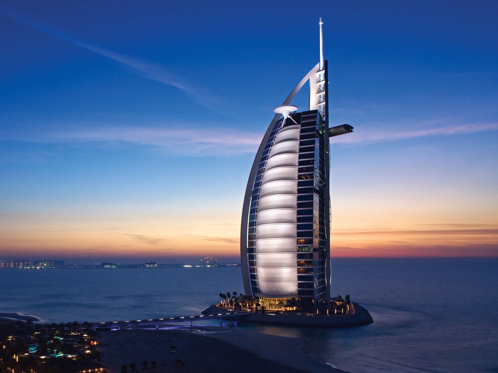 Burj-Al-Arab These are the coolest skyscraper buildings in Dubai