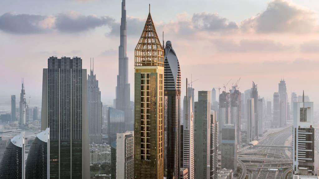 Gevora Hotel These are the coolest skyscraper buildings in Dubai