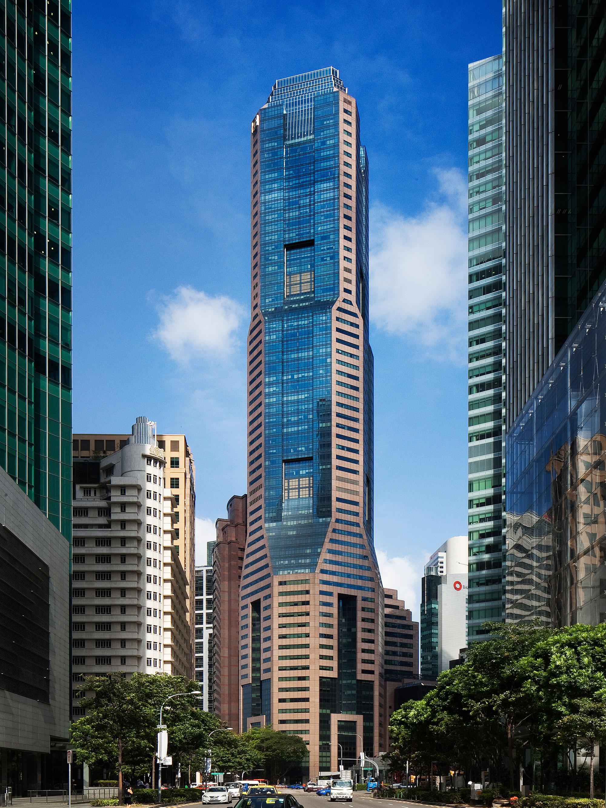Republic-Plaza Singapore's tallest skyscraper in the city-state