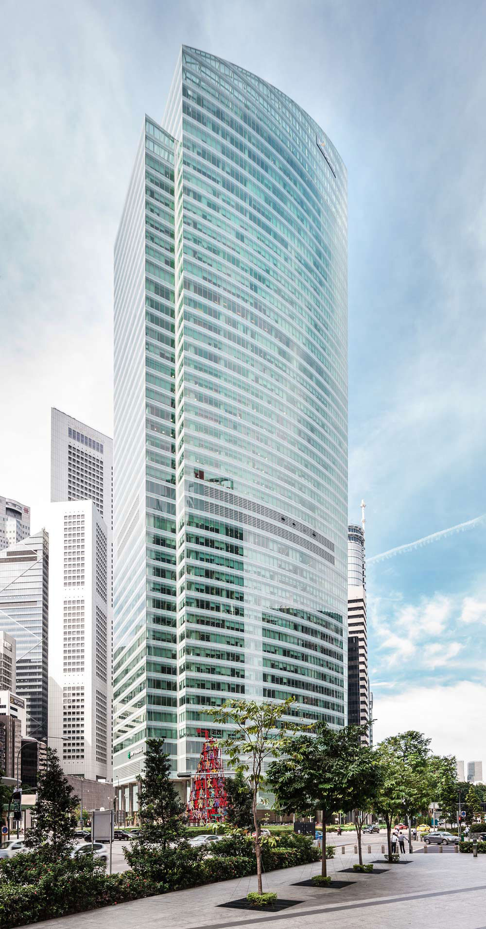 The-Ocean-Financial-Center Singapore's tallest skyscrapers in the city-state