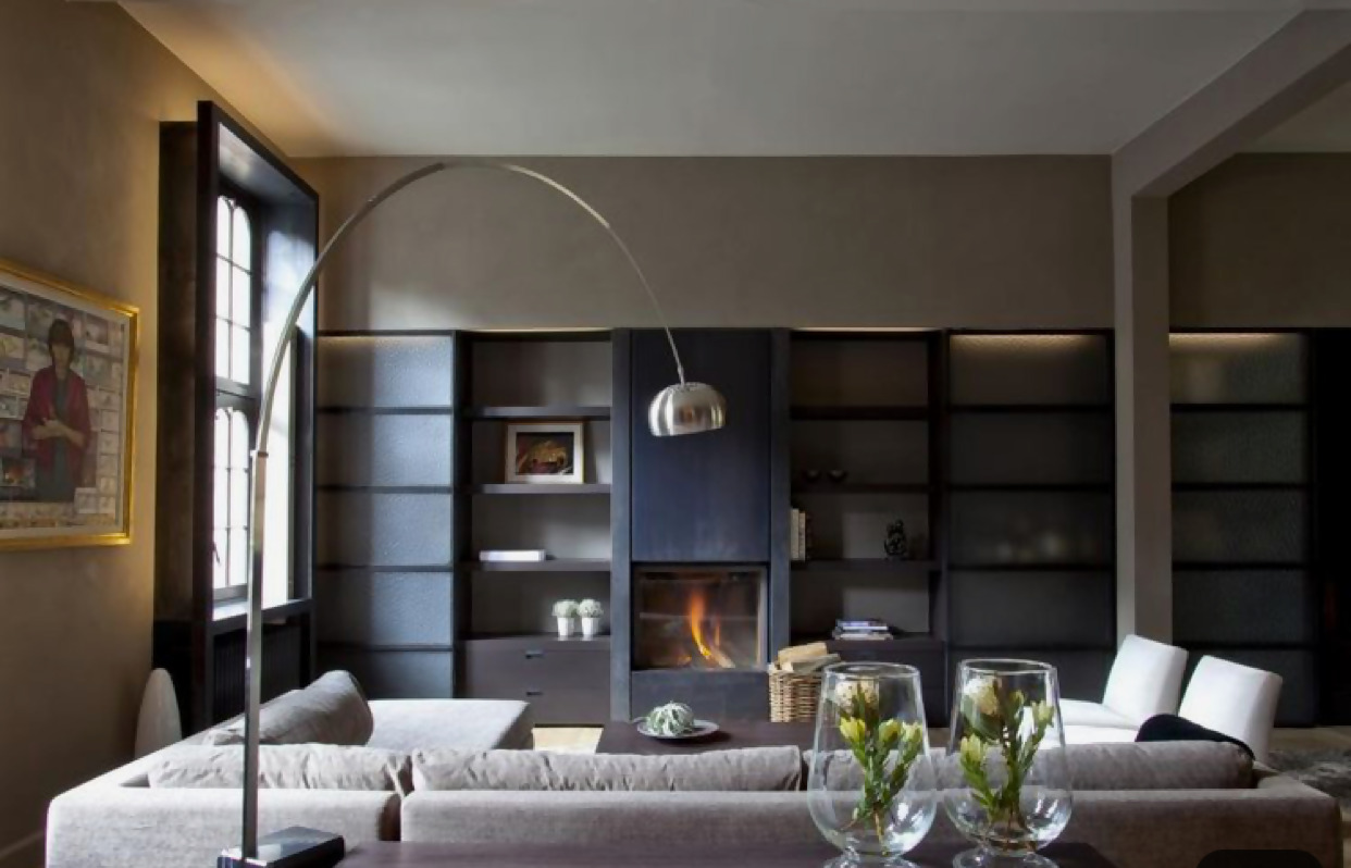 image009 Enhance any room with the Arco lamp