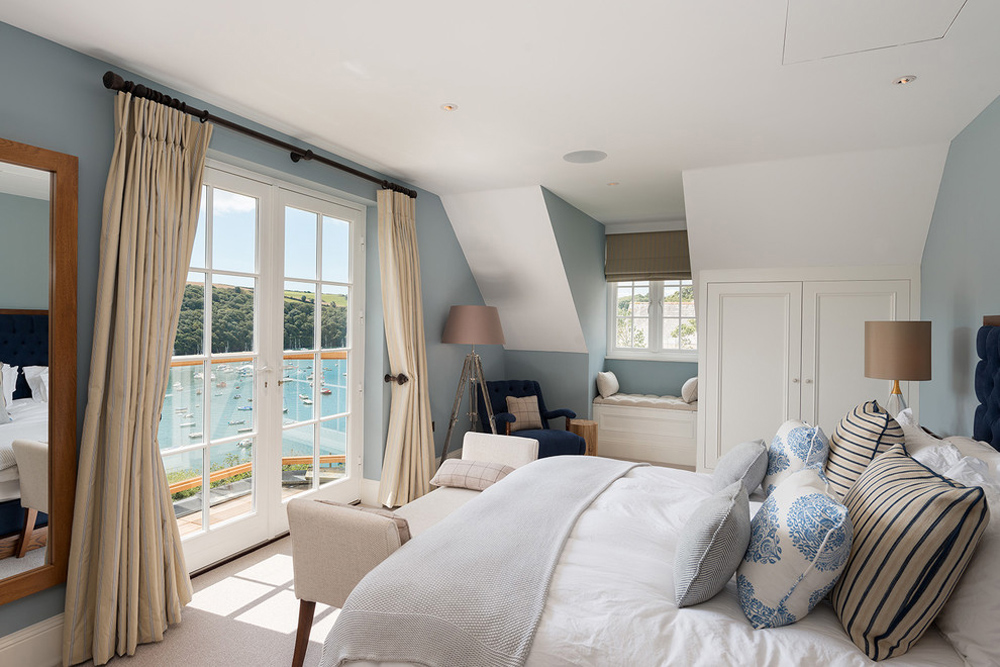 Waterside-Home-by-Woodford-architecture-and-interior storage ideas for bedrooms to optimize your space